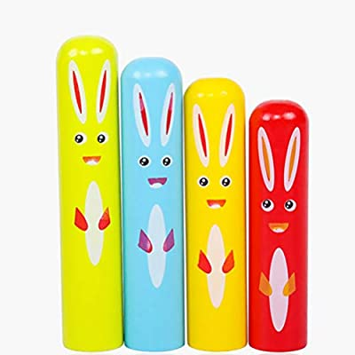 TOYANDONA 1 Set of Toys Classic Pop-Up Toy Cartoon Rabbit Interactive Toy Color Cognitive Toy for Toddlers Children: Toys & Games