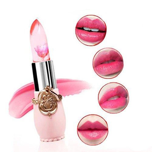 ANBOO Magic Color Temperature Change Moisturize Waterproof Long Lasting Lipstick Lip Gloss (Pink)