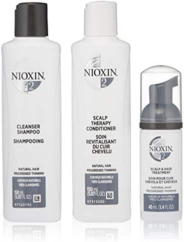 Nioxin Hair Care Kit System 2,  3 Count.
