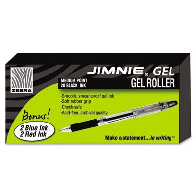Zebra Jimnie Gel Stick Roller Ball Pen