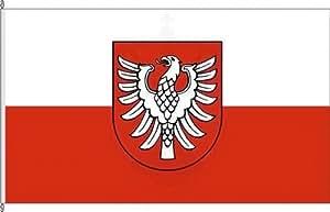 Mesa banderitas País circular Heilbronn–[Soporte para banderas de mesa de cromo
