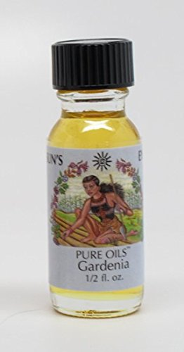 Gardenia - Sun's Eye Pure Oils - 1/2 Ounce Bottle Perfume Oil Suns Eye
