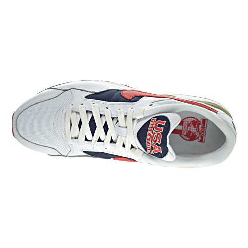 Nike Herren 844964-100 Turnschuhe, Weiß white, unvrsty red-mdnght nvy