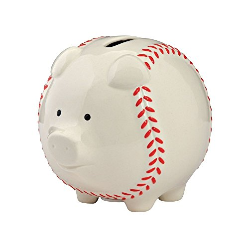 Enesco Baseball Piggy Bank