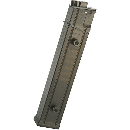 - Evike Angel Custom AP10 200 Rounds Hi-Cap Straight Style Magazine for MP5 Series Airsoft AEG - Single - (46967)