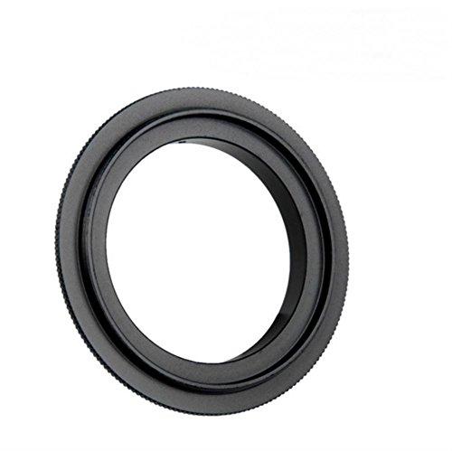 (AKOAK 52mm Diameter Filter Thread Lens Macro Reverse Ring Adapter for Nikon DSLR Camera)