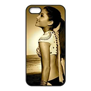 Customize American Famous Singer Ariana Grande Back Case for iphone 5 5S JN5S-2463 Designed by HnW Accessories