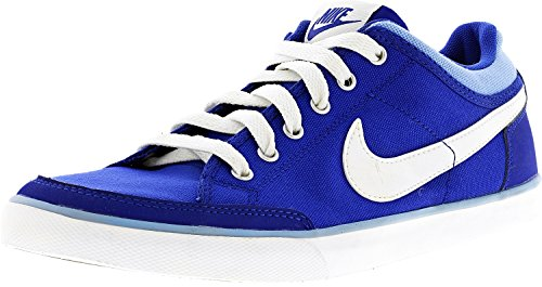 Nike Capri Iii Canvas Sneakers Blauw / Wit