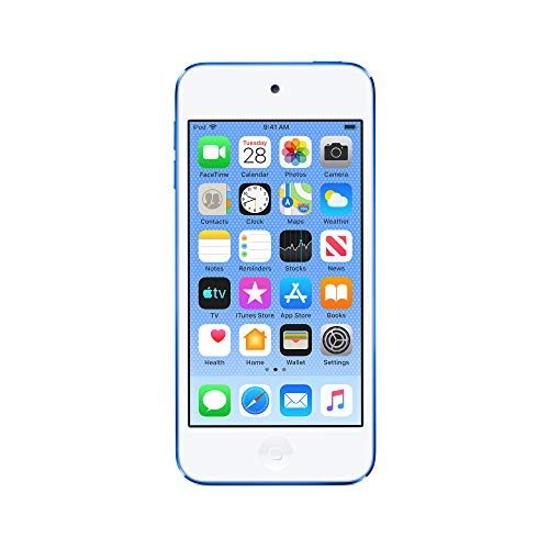 Apple iPod touch (32GB) - Blue (Latest Model) (Silver Ipod Touch 4th Generation)