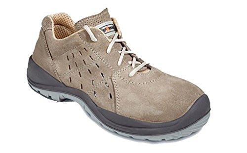 Exena Sirio - Calzado de protección laboral, talla 47, color marrón claro Marrón claro
