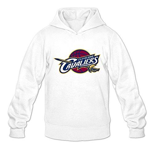 Men's Cleveland Cavaliers Logo Design Hoodies Sweatshirt White Size M Latest By Rahk