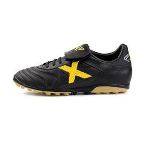 Munich Mundial - Zapatillas para hombre, color negro/amarillo: Amazon.es: Zapatos y complementos