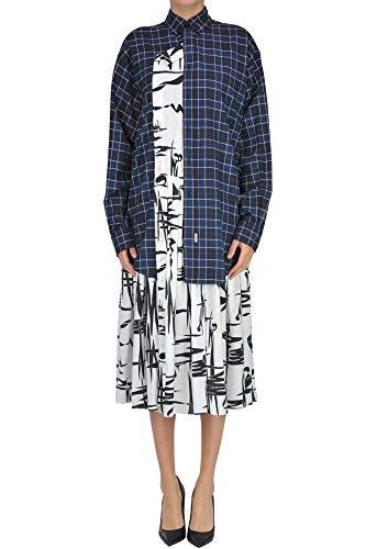 Balenciaga Luxury Fashion Womens MCGLVS0000006043I Blue Dress | Season Outlet