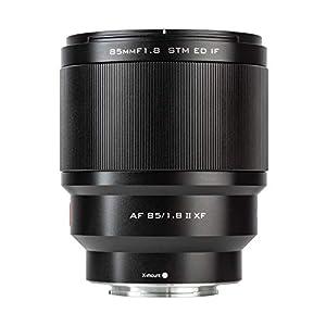 VILTROX PFU RBMH 85mm F1.8 II Objectif Automatique Full Frame Premier Objectif Portrait pour Fuji X Mount X-T3 X-T30 X…