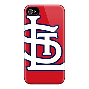 New Fashionable Rewens KbY1220HRiJ Cover Case Specially Made For Iphone 4/4s(st. Louis Cardinals)