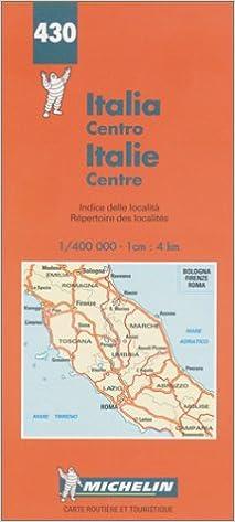 Carte Italie Du Centre.Amazon Fr Carte Routiere Italie Centre N 430 Cartes