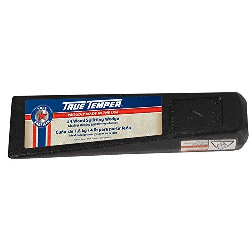 "True Temper 1113091900 5.25"" 4 Lb Wood Splitting Wedge"