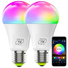 Introducing HaoDeng WiFi Smart LED Light Bulb (Compatible with Amazon Alexa & Google Assistant &IFTTT)  Meet HaoDeng WiFi Bulb, a revolutionary new light bulb that changes the way you see light. This is a Wi-Fi enabled, multicolored, ...