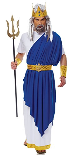 Costume Culture Men's Neptune Costume, White, X-Large -