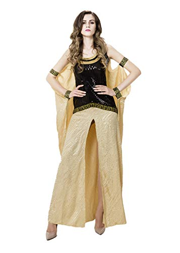 Women's National Arab Long Dress,Halloween Christmas Theme Party Cosplay Adult Costume (Style 1)