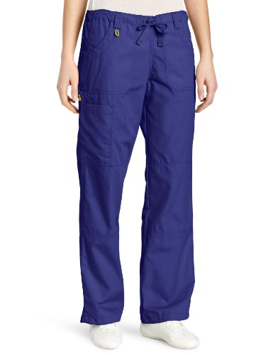 WonderWink Women's Scrubs  Cargo Pant, Galaxy Blue, Medium