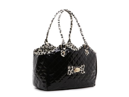 Zoostar Black Fashion Pet Dog Cat Handbag Purse Airline Outdoor Carrier Travel Hiking Bag