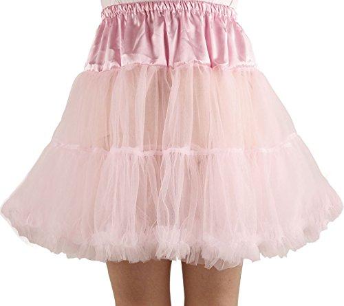 Ponce Fashion Women's Princess Mini Tutu Skirt Short Petticoat - Pink -