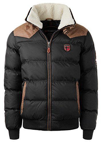 Giacca Uomo Norway Geographical Nero Geographical Norway w0qpnPS40