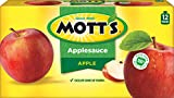 Mott's Snack & Go Applesauce, Original, 12 Count(Package may Vary)