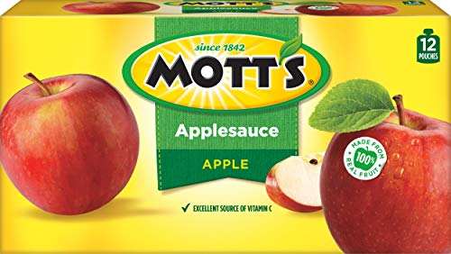 (Mott's Snack & Go Applesauce, Original, 12 Count(Package may Vary))