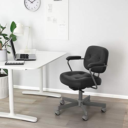 BestOnlineDeals01 ALEFJÄLL kontorsstol, glansig svart, 64 x 64 x 95 cm hållbar och lätt att ta hand om. Kontorsstolar. Stolar. Möbler. Miljövänlig. Glose Black
