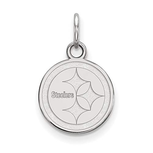 NFL Sterling Silver Pittsburgh Steelers XS ()