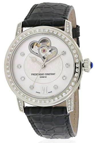 Frederique Constant FC-310DHB2PPV6 Double Heart Beat Automatic Ladies Watch