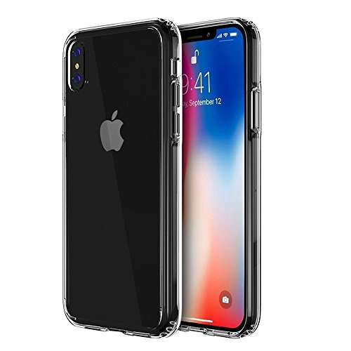 iPhone X Case, Singularity Products Shock Absorption Rigid Slim Protective Cases Anti-scratch [Ultra Slim Fit] with iPhone X Screen Protector for iPhone X/10 with Kickstand (2018) -