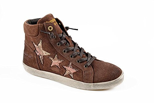 PANTOFOLA D ORO Damen Sneaker 13 Stafania Mid Braun Größe 37