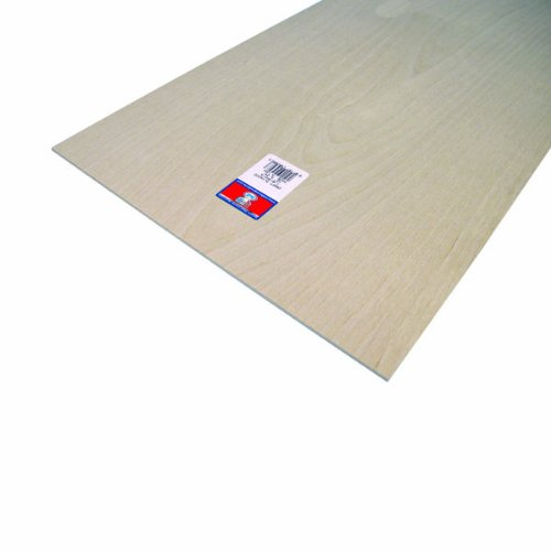 Plywood Kit (Midwest Products 5306 Craft Plywood, 12 x 24 x 0.125 Inches, Package of 6 Pieces)