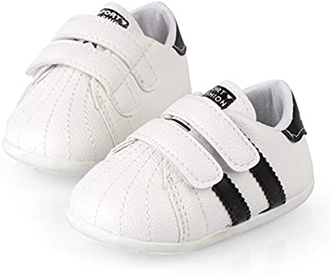 Newborn Baby Girl Soft Sole Canvas Crib Shoes Anti-slip Sneaker Prewalker