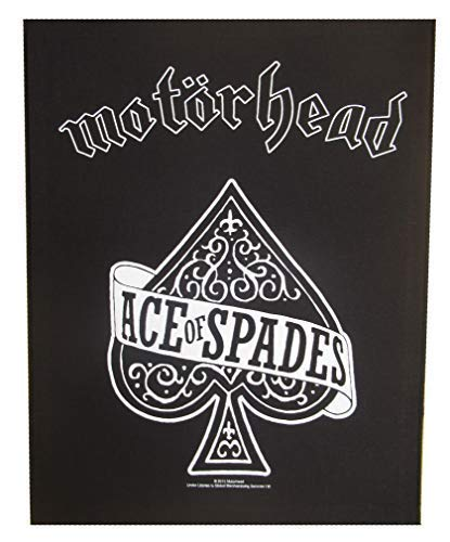 NagaPatches Motorhead patche dorsal dossard grande taille