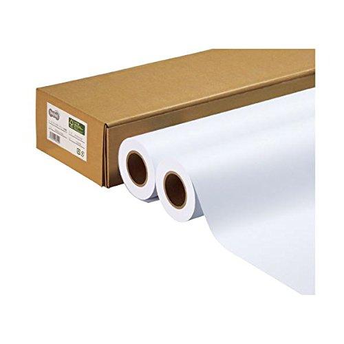 日用品 プリンタ用紙 関連商品 (まとめ買い) ハイグレード普通紙 A1ロール 594mm×50m 1箱(2本) 【×2セット】 B07792BB1J