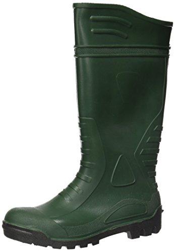 Wolfpack 15010156 Bottes de sécurité hautes en caoutchouc Vert Pointure42
