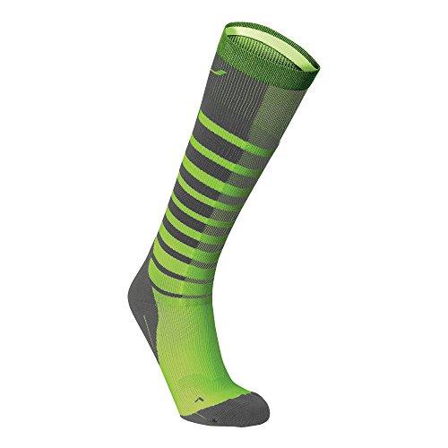 2xu-mens-striped-run-compression-socks-grey-bright-green-large