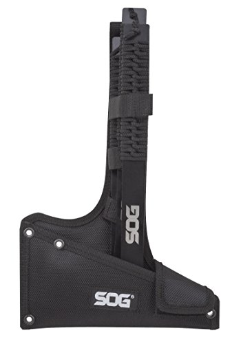 SOG Tomahawk Pack of 3 - Throwing Hawks Throwing Axe Set and Full Tang Tactical Hatchet Pack w/ 1.75 Inch Blades and Camping Axe Sheath (TH1001-CP) by SOG Specialty Knives (Image #7)