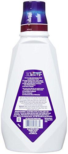 Crest Whitening Rinse Fresh Mint Mouthwash - 946 ML