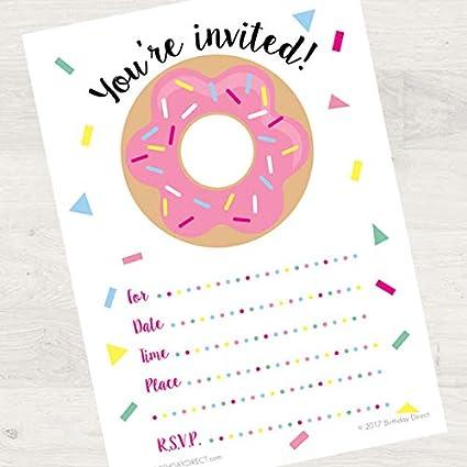 Amazon.com: Invitaciones de cumpleaños para fiestas de 8 ct ...
