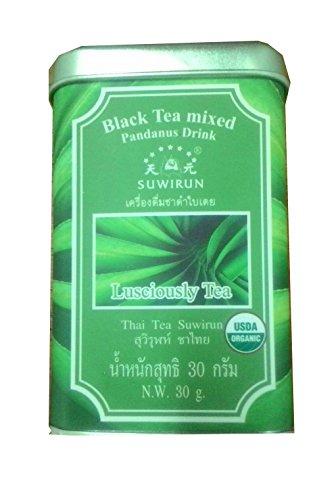 Pandanus Tea (Lusciously Tea) Thai Tea Suwirun 50g by Thai Tea Suwirun