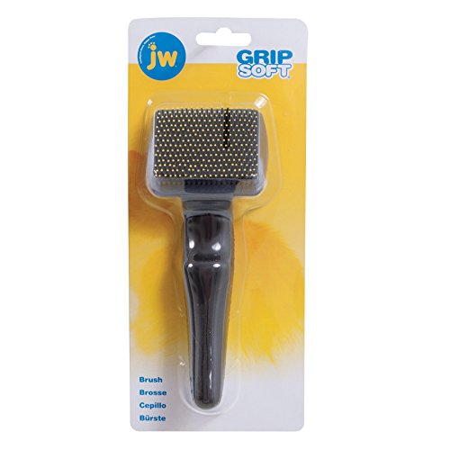 JW Pet Company GripSoft Cat Slicker Brush, Small