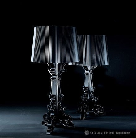 Kartell bourgie ghost table lamp black amazon kitchen home kartell bourgie ghost table lamp black mozeypictures Gallery