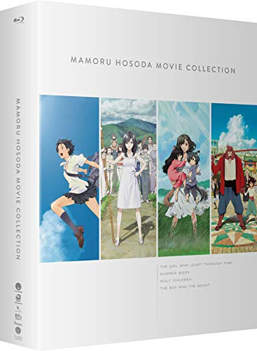 Mamoru Hosoda Movie Collection: The Girl Who Leapt Through Time / Summer Wars / Wolf Children / The Boy and the Beast [Blu-ray]