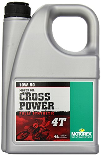 Motorex Cross Power 4T Oil - 10W50-4L. 171-401-400 (Best 4t Oil For Motorcycle)