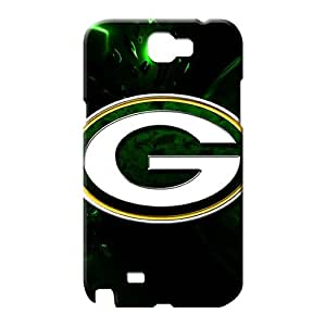 samsung note 2 Shock Absorbing Pretty phone Hard Cases With Fashion Design phone case skin green bay packers nfl football